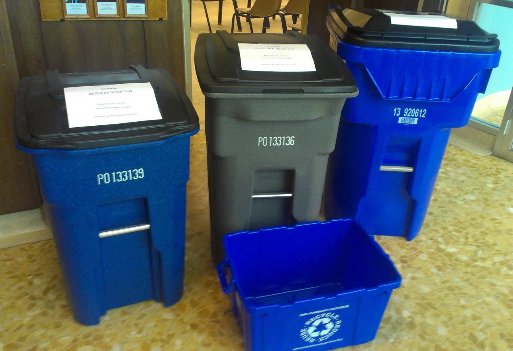 City Of Waukesha Reaches Out To Residents On New Garbage Recycling System
